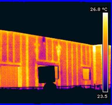 Block Wall Scan IR Thermal Imaging Block Wall Thermal Scans Block Wall Infrared Thermography in NJ