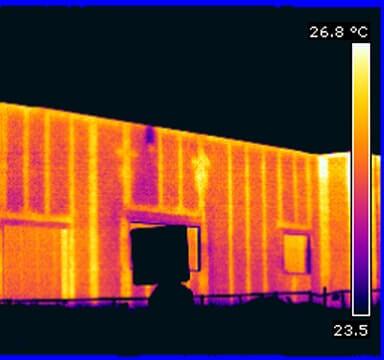 Block Wall Scan IR Thermal Imaging Block Wall Thermal Scans Block Wall Infrared Thermography in NJ