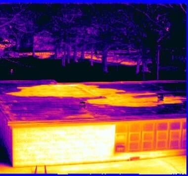 Commercial & Residential Infrared Moisture Survey/Inspections of Flat & Low Sloped Roofs in NJ